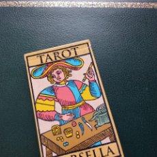 Barajas de cartas: BARAJA DE TAROT 'MARSELLA' COLECCIÓN RBA. Lote 228204615
