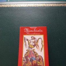 Barajas de cartas: BARAJA DE TAROT 'MINCHIATE FLORENTINAS'. Lote 228204890