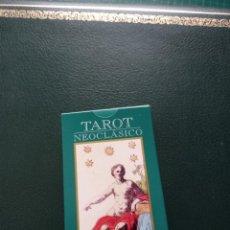 Barajas de cartas: BARAJA DE TAROT 'NEOCLASICO' COLECCIÓN RBA. Lote 228205085