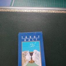 Barajas de cartas: BARAJA DE TAROT 'DALI' COLECCIÓN RBA. Lote 228205450
