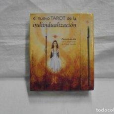 Barajas de cartas: EL TAROT DE LA INDIVIDUALIZACION.PIERRE LASSALLE.CAJA CON LIBRO + 33 CARTAS.EDICIONES OBELISCO.2013.. Lote 228322512