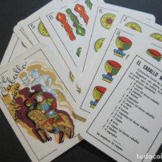 Barajas de cartas: EL CABALLO MISTERIOSO-JUGUETES BORRAS-BARAJA CON 18 CARTAS GIGANTES-VER FOTOS-(K-1250). Lote 228347780
