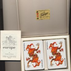 Jeux de cartes: DOBLE BARAJA EUROPA. PLAYING CARDS. HERACLIO FOURNIER. Lote 228399350