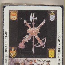 Baralhos de cartas: BARAJA ESPAÑOLA. 40 CARTAS. CONMEMORATIVA DE LA LEGIÓN ESPAÑOLA. NAIPES COMAS. PRECINTADA. Lote 228399535