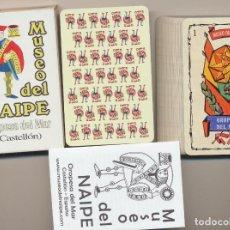 Jeux de cartes: BARAJA ESPAÑOLA. 50 CARTAS. MUSEO DEL NAIPE. OROPESA DEL MAR. HERACLIO FOURNIER. SIN USAR. Lote 228400465