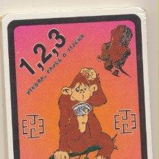 Jeux de cartes: JUEGO INFANTIL PIEDRA, PAPEL O TIJERA. JUEGOS JORMAR 2001. PRECINTADO. Lote 228400540