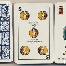 Jeux de cartes: BARAJA ESPAÑOLA FOURNIER. HERACLIO FOURNIER N.º 2. DIBUJOS DE MINGOTE. 50 CARTAS. EDICIÓN MYR 1969.. Lote 228400565