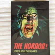 Jeux de cartes: BARAJA HORROR 54 CARTAS DIFERENTES NUEVAS MIEDO NAIPES. Lote 228591275
