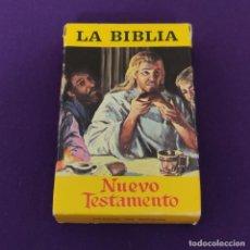 Mazzi di carte: BARAJA INFANTIL FOURNIER. LA BIBLIA. NUEVO TESTAMENTO. COMPLETA. 48 CARTAS. AÑO 1970. SIN USAR. Lote 228745585