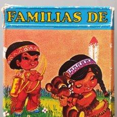Baralhos de cartas: BARAJA INFANTIL FAMILIAS DE 7 PAISES 42 CARTAS + REGLAMENTO DEL JUEGO AÑO 1979. Lote 228813170