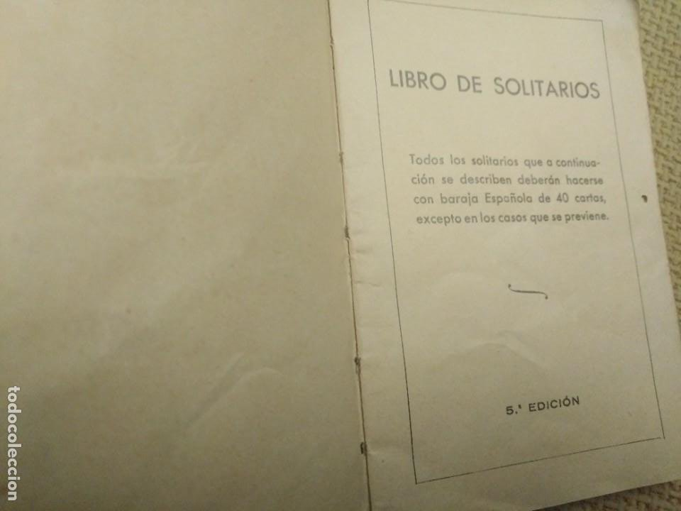Barajas de cartas: Baraja y libro de solitarios Fournier - Foto 8 - 228981720