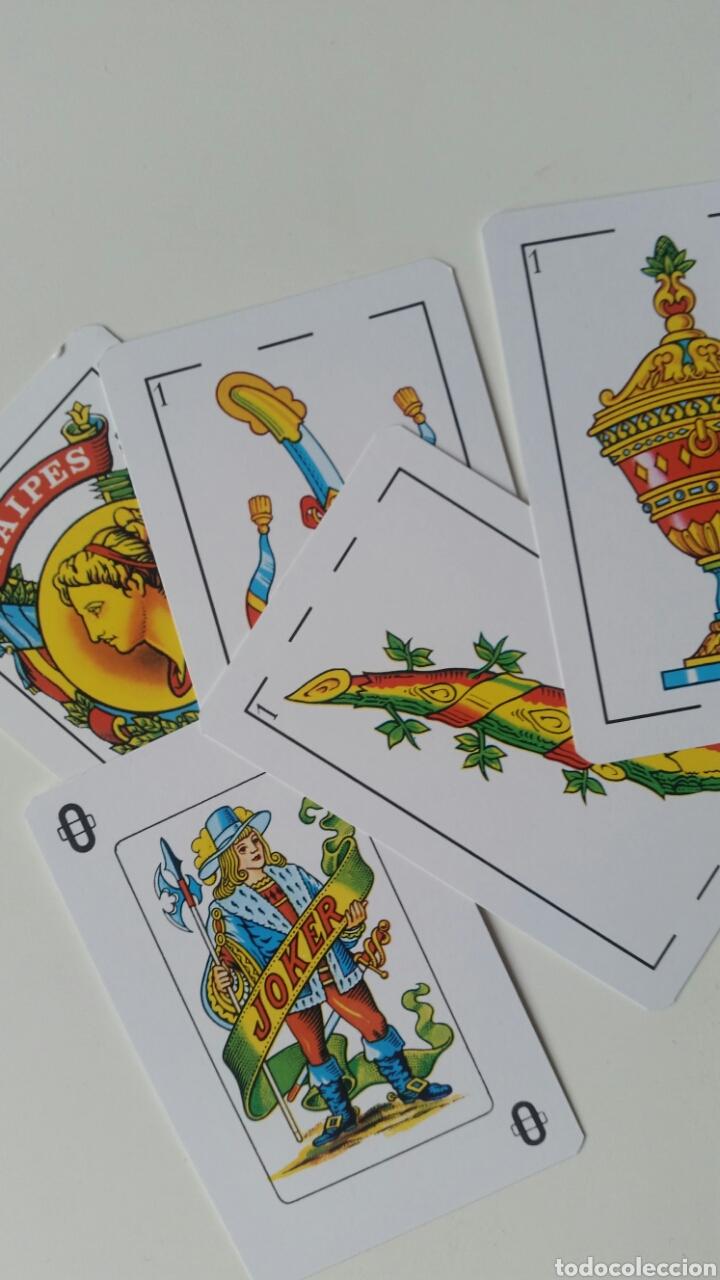 Barajas de cartas: Baraja . Naipes publicidad Abanderado . Sin uso escasa ideal colección - Foto 2 - 229040075
