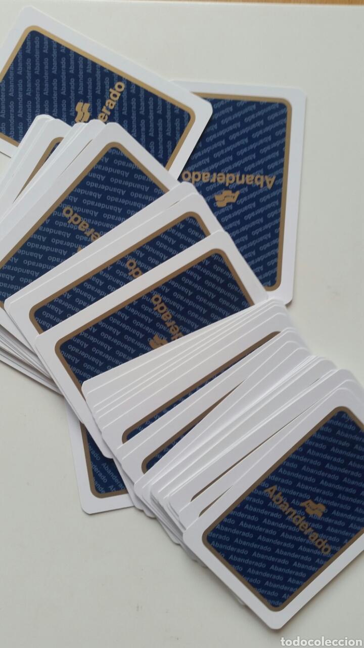 Barajas de cartas: Baraja . Naipes publicidad Abanderado . Sin uso escasa ideal colección - Foto 3 - 229040075