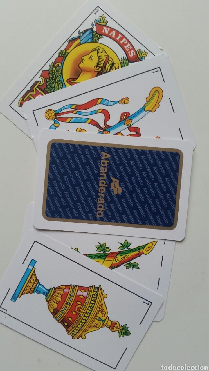 BARAJA . NAIPES PUBLICIDAD ABANDERADO . SIN USO ESCASA IDEAL COLECCIÓN (Juguetes y Juegos - Cartas y Naipes - Baraja Española)