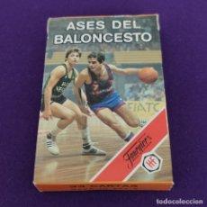 Mazzi di carte: BARAJA INFANTIL FOURNIER. ASES DEL BALONCESTO. 33 CARTAS. NUEVA SIN USAR. 1985.. Lote 229344180