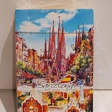 Barajas de cartas: BARAJA BARCELONA / COMPLETA Y PRECINTADA - DE LUJO.. Lote 260675785