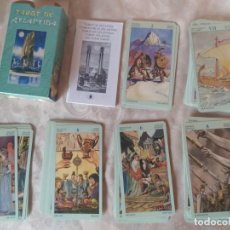 Barajas de cartas: TAROT DE LA ATLANTIDA LO SCARABEO COMO NUEVO. Lote 230026045