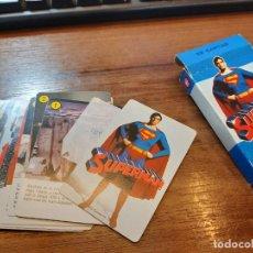 Mazzi di carte: BARAJA CARTAS SUPERMAN. NUEVA. NO ES FACSÍMIL. DE PAPELERÍA. 1979.. Lote 248208415