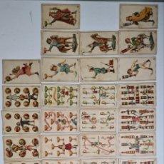 Barajas de cartas: BARAJA DE CARTAS NAIPES INFANTIL CHOCOLATES A. SOLE ALSINA BARCELONA. Lote 230523230