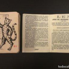 Barajas de cartas: NAIPE BARAJA JUEGO DEL ABECEDARIO ESPAÑOL FOURNIER COMPLETA 53 CARTAS. Lote 230619655