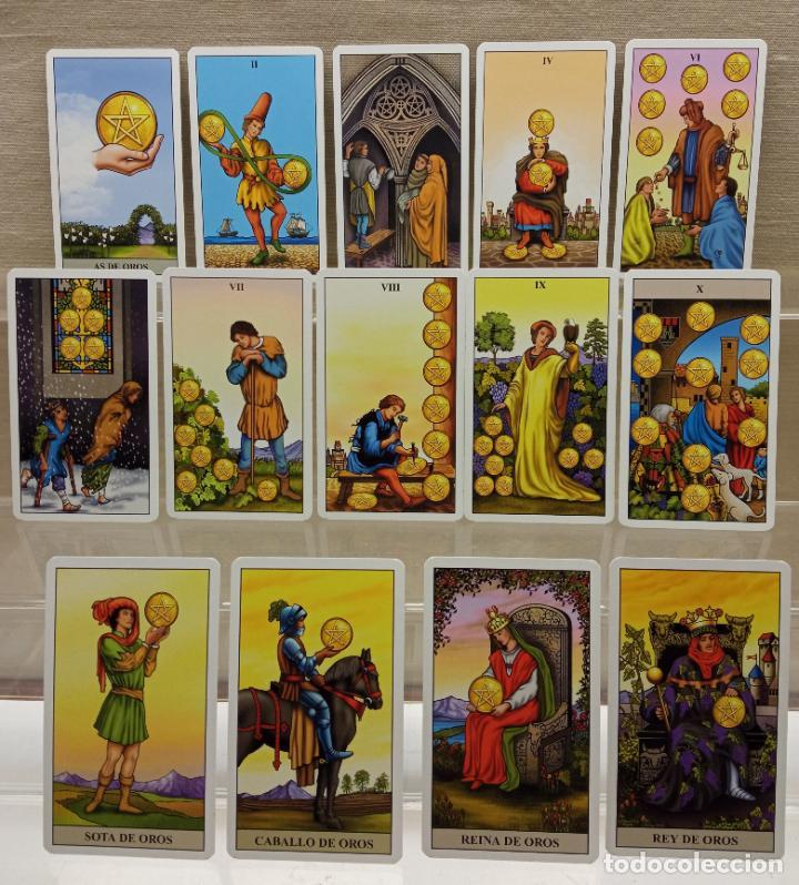 Barajas de cartas: TAROT de WAITE COMPLETO 78 NAIPES CARTAS muy buen estado - Foto 2 - 230916465