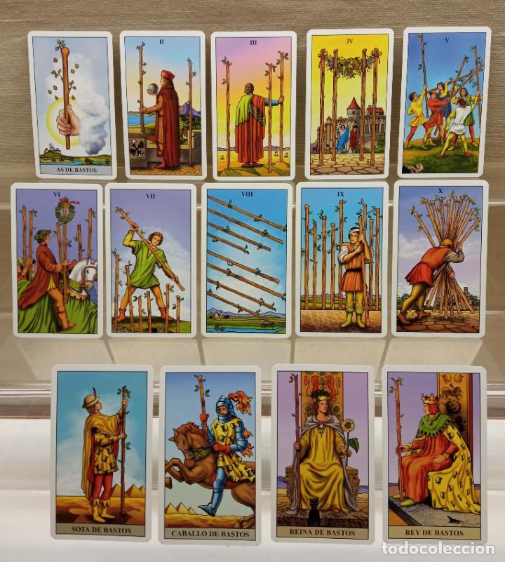 Barajas de cartas: TAROT de WAITE COMPLETO 78 NAIPES CARTAS muy buen estado - Foto 3 - 230916465