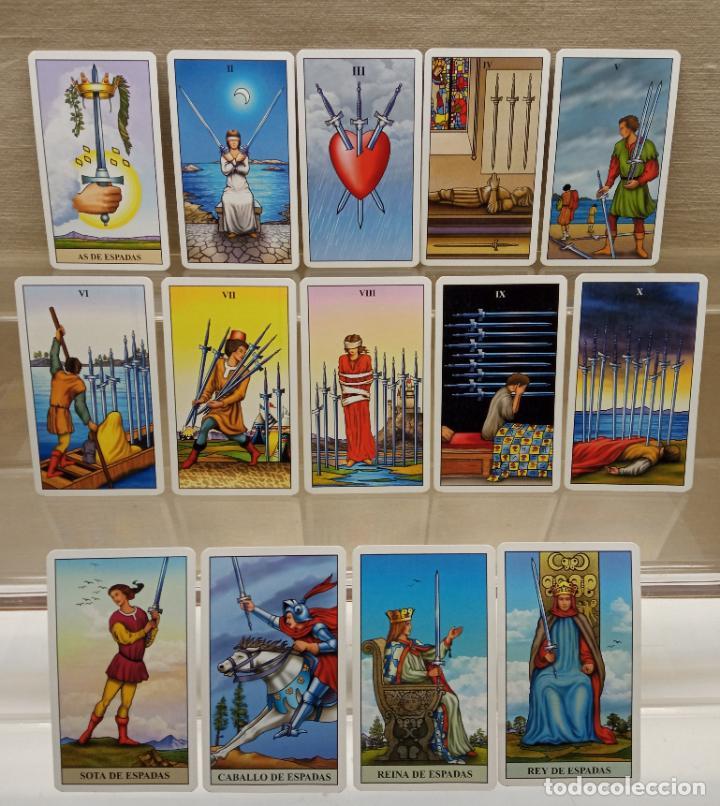 Barajas de cartas: TAROT de WAITE COMPLETO 78 NAIPES CARTAS muy buen estado - Foto 4 - 230916465