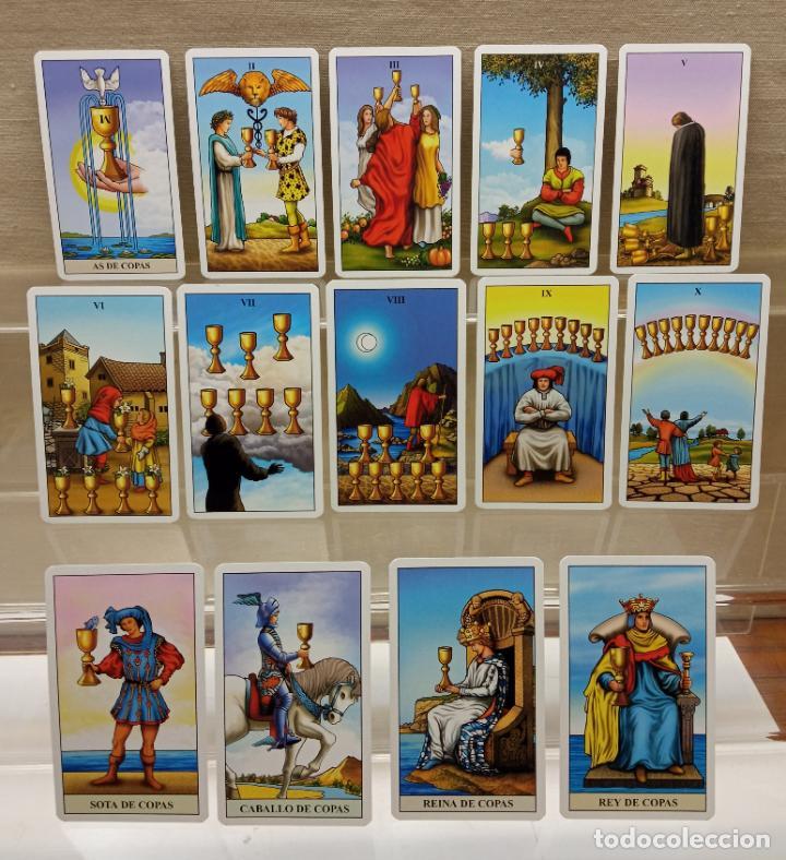 Barajas de cartas: TAROT de WAITE COMPLETO 78 NAIPES CARTAS muy buen estado - Foto 5 - 230916465