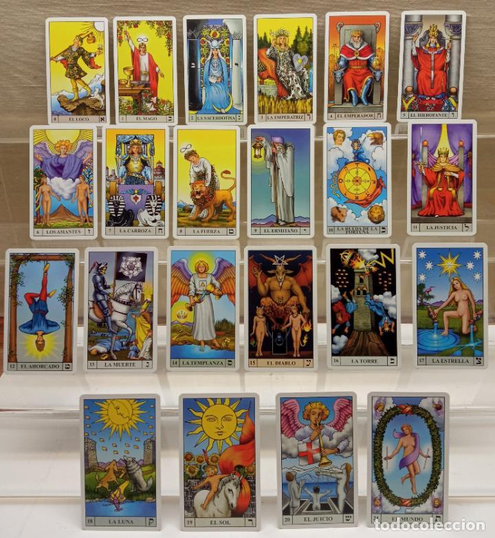 Barajas de cartas: TAROT de WAITE COMPLETO 78 NAIPES CARTAS muy buen estado - Foto 6 - 230916465