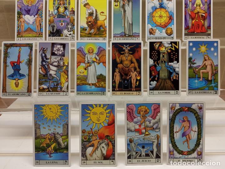 Barajas de cartas: TAROT de WAITE COMPLETO 78 NAIPES CARTAS muy buen estado - Foto 8 - 230916465