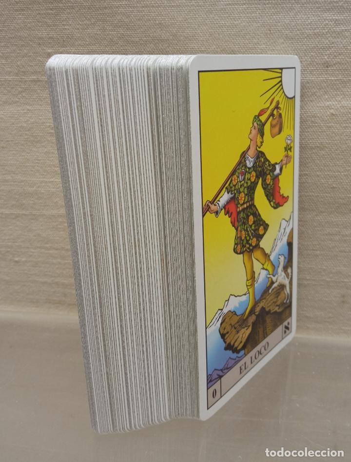Barajas de cartas: TAROT de WAITE COMPLETO 78 NAIPES CARTAS muy buen estado - Foto 9 - 230916465