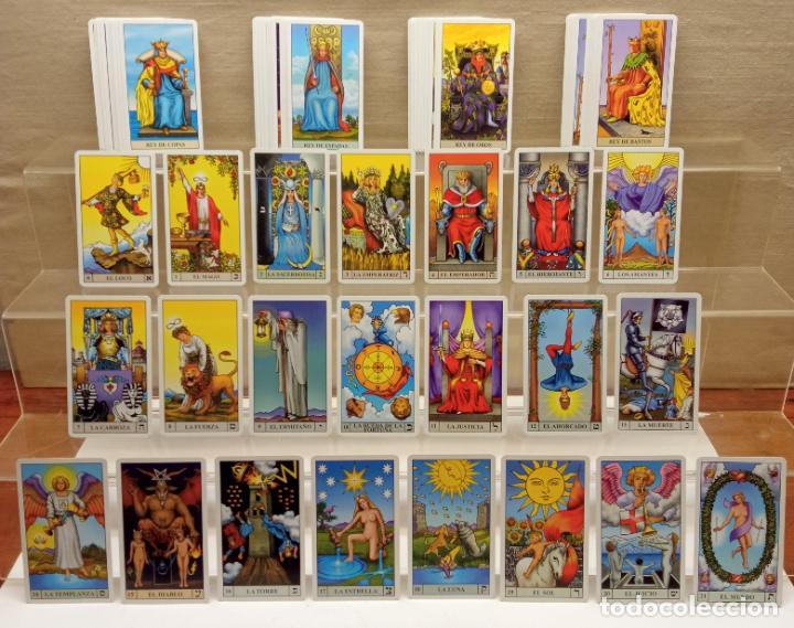 Barajas de cartas: TAROT de WAITE COMPLETO 78 NAIPES CARTAS muy buen estado - Foto 10 - 230916465
