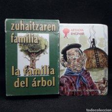 Barajas de cartas: BARAJA LA FAMILIA DEL ÁRBOL. DIPUTACIÓN DE GIPUZKOA.. Lote 231069660