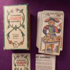 Mazzi di carte: BARAJA TAROT MARSELLA - TAROT ESPAÑOL. Lote 231533360