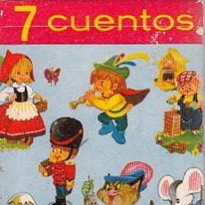 Jeux de cartes: BARAJA CARTAS. 7 CUENTOS INFANTILES. COMPLETA. FOURNIER. Lote 231602110