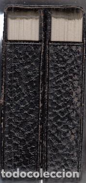 Barajas de cartas: DOBLE BARAJA CARTAS PÓKER Nº400. FOURNIER. COMPLETAS. CONTIENEN ESTUCHE DE PIEL. - Foto 3 - 231618310