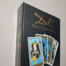 Barajas de cartas: DALÍ. TAROT UNIVERSAL. EVERGREEN. PRECINTADO. A ESTRENAR.. Lote 261813905
