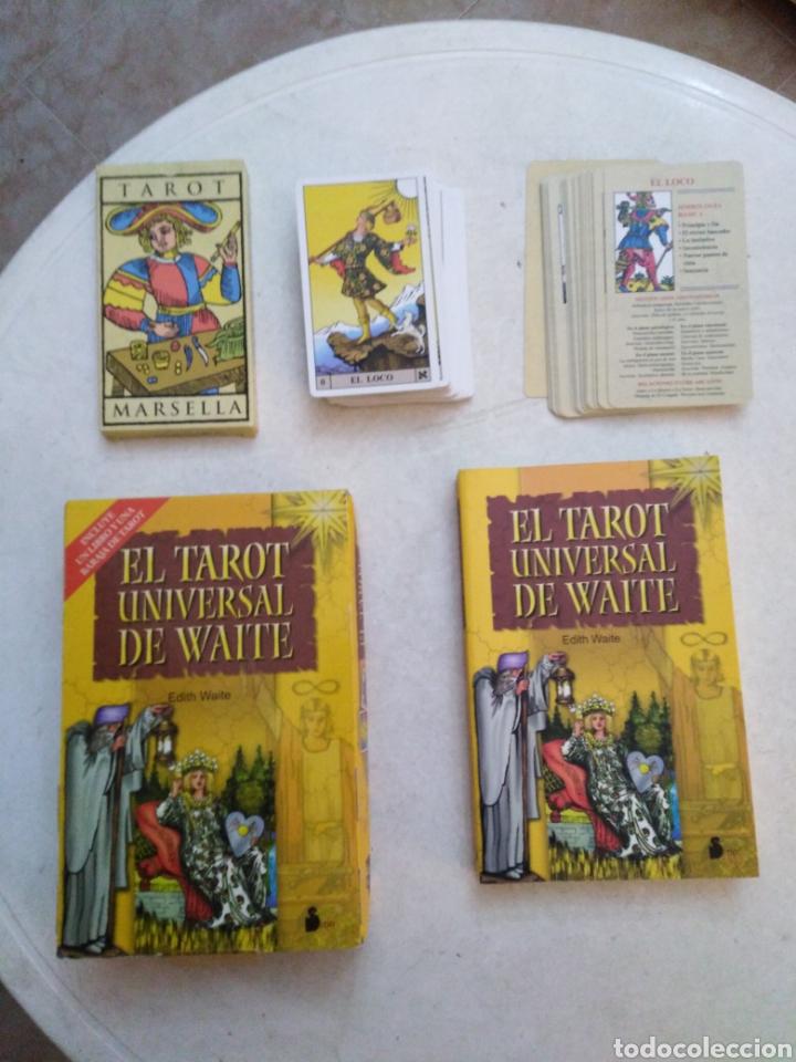 Barajas de cartas: Lote del tarot ( tarot Marsella y el tarot universal de waite ) - Foto 6 - 231754150