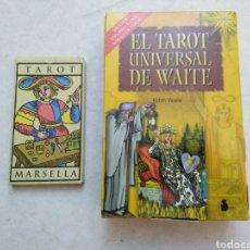 Barajas de cartas: LOTE DEL TAROT ( TAROT MARSELLA Y EL TAROT UNIVERSAL DE WAITE ). Lote 231754150