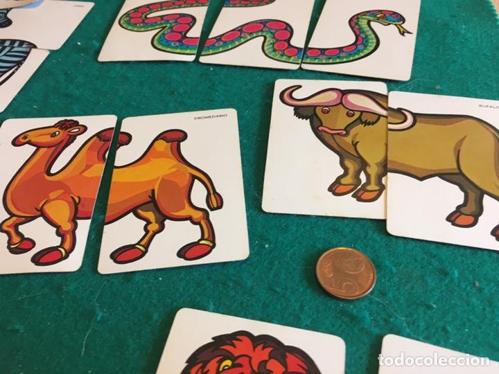 Barajas de cartas: Antigua baraja de cartas ANIMALES LOCOS 32 cartas Fournier - Foto 3 - 231776285