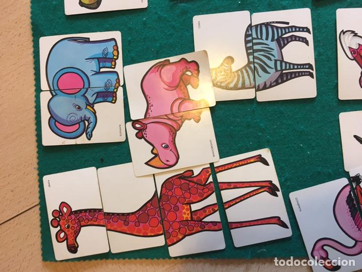 Barajas de cartas: Antigua baraja de cartas ANIMALES LOCOS 32 cartas Fournier - Foto 6 - 231776285