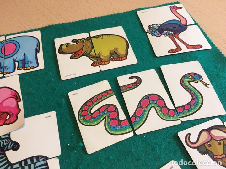 Barajas de cartas: Antigua baraja de cartas ANIMALES LOCOS 32 cartas Fournier - Foto 7 - 231776285