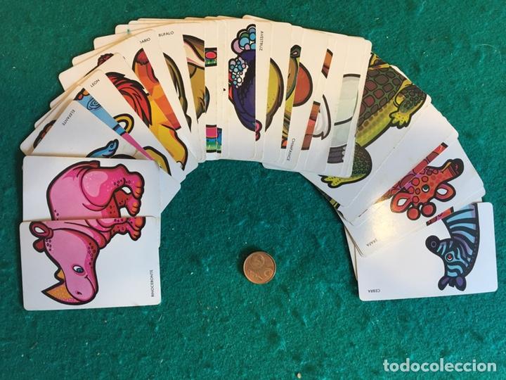 Barajas de cartas: Antigua baraja de cartas ANIMALES LOCOS 32 cartas Fournier - Foto 8 - 231776285