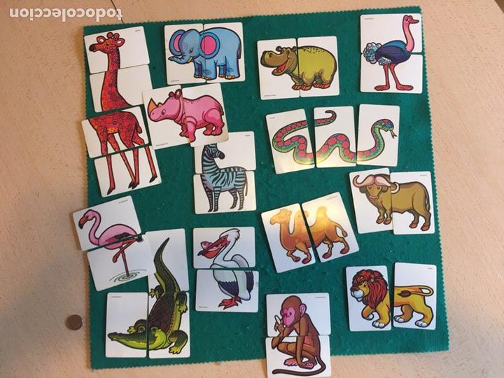 ANTIGUA BARAJA DE CARTAS ANIMALES LOCOS 32 CARTAS FOURNIER (Juguetes y Juegos - Cartas y Naipes - Barajas Infantiles)