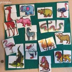 Barajas de cartas: ANTIGUA BARAJA DE CARTAS ANIMALES LOCOS 32 CARTAS FOURNIER. Lote 231776285