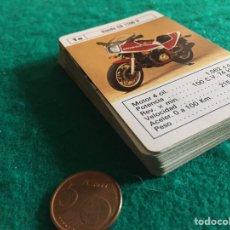 Barajas de cartas: BARAJA DE CARTAS MOTOS SUPERMOTOS COMPLETA FOURNIER 1984. Lote 231777740