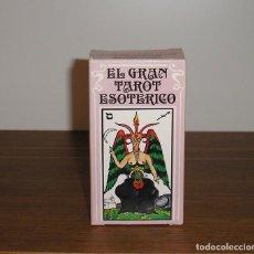 Barajas de cartas: HERACLIO FOURNIER EL GRAN TAROT ESOTERICO. Lote 231819025