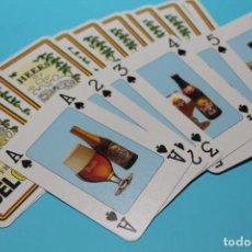 Jeux de cartes: BARAJA DE 54 DIFERENTES CERVEZAS BELGAS. NUEVA A ESTRENAR. AÑOS 90. VER FOTOS.. Lote 231840145