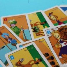 Barajas de cartas: BARAJA DE DON QUIJOTE Y SANCHO PANZA. 24 CARTAS. COMPLETA. MUY RARA. NAIOPES PRIMARIA. ARAGON.. Lote 231850575