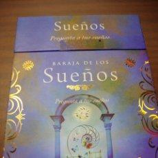 Barajas de cartas: BARAJA DE LOS SUEÑOS PREGUNTA A TUS SUEÑOS COMPLETA CON SU LIBRO EN SU CAJA. Lote 231976560